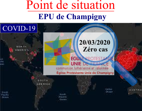 Point de situation Covid au 20-03-2020